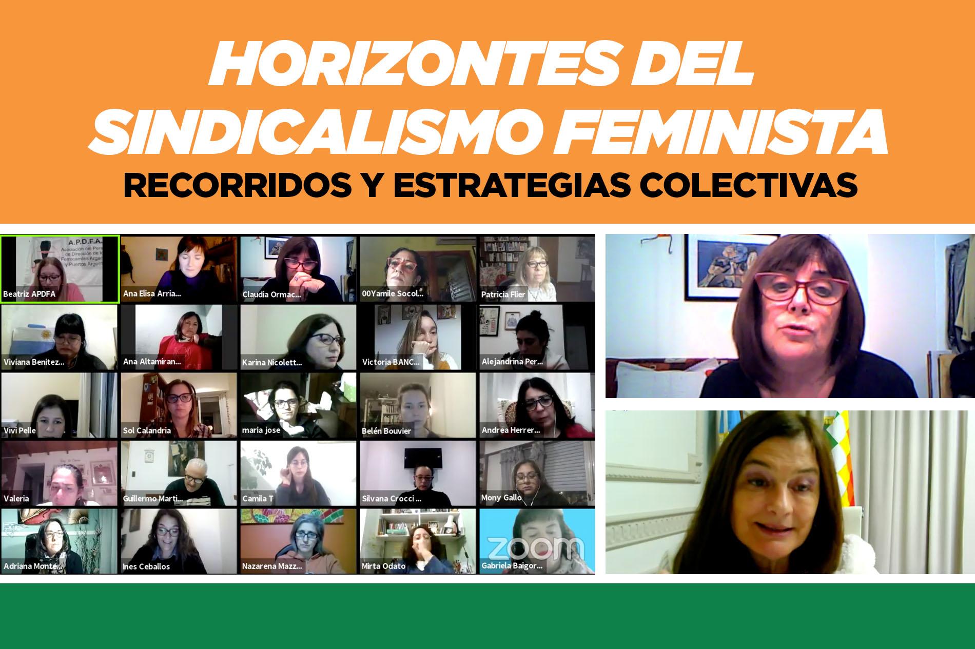 Horizontes del sindicalismo feminista. Recorridos y estrategias colectivas.